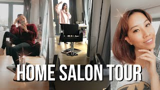 Home Salon Tour   Basic Bleech - Hair By Grace Lee