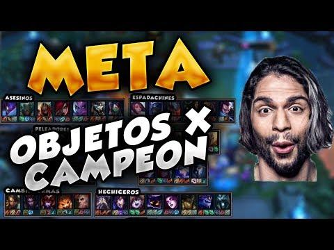 TFT META de MEJORES OBJETOS PARA CADA CAMPEON | OBJETOS TFT | LOL Español