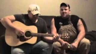 """Eric Church's  """"Homeboy""""  Acoustic Cover by Nathan and Dustin"""