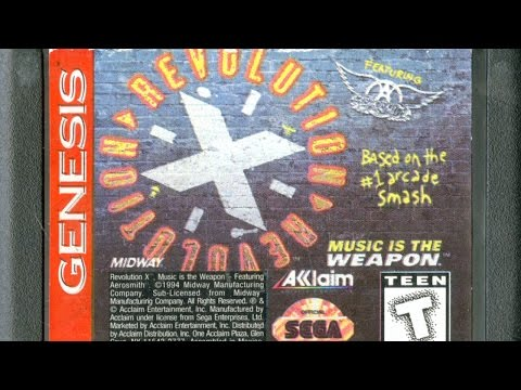 Revolution X Megadrive