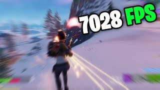 fortnite at the worlds HIGHEST FPS (SUPERCOMPUTER)