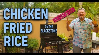 "Chicken Fried Rice on the Blackstone 22"" Griddle 