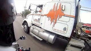 TRUCK DRIVER TRIES RUNNING ME OVER! Vlog