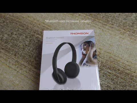 Thomson WHP-6005BT On-Ear, Foldable, Bluetooth Headset with Microphone