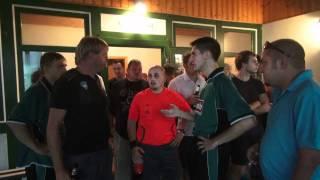 preview picture of video 'Unwetter zum Punktspiel Wahlhausen - Grossbartloff'