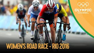 Cycling Road: Women's Road Race | Rio 2016 Replays