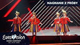 Eurowizja 2019: Próba zespołu Tulia (pełne nagranie)