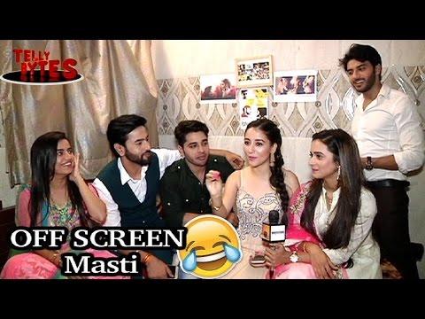 OFF SCREEN Masti with Jaana Na Dil Se Door Cast!
