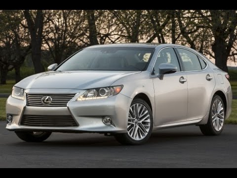 2015 Lexus ES350 Start Up and Review 3.5 L V6