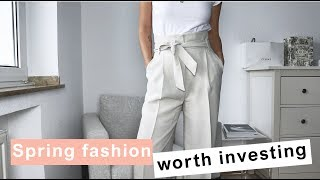 Spring Fashion Worth Investing: Don´t Waste Your Money // The Geek Is Chic