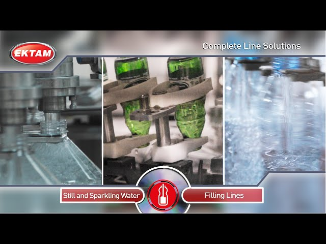 WATER AND SPARKLING WATER Filling Lines