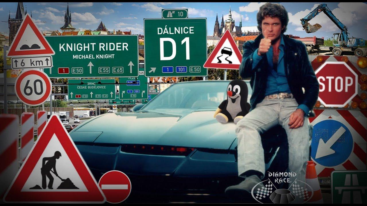 KNIGHT RIDER na dálnici D1