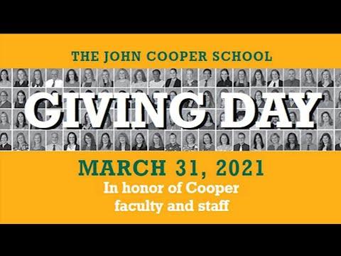 Giving Day | The John Cooper School