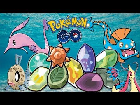 ¡Los NUEVOS ELEMENTOS EVOLUTIVOS de 3 GENERACIÓN en Pokémon GO! FEEBAS a MILOTIC por KM!! [Keibron]