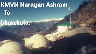 preview picture of video 'NARAYAN ASHRAM TO DHARCHULA, PITHORAGARH,UTTARAKHAND ||DCLboy Sukhi||'