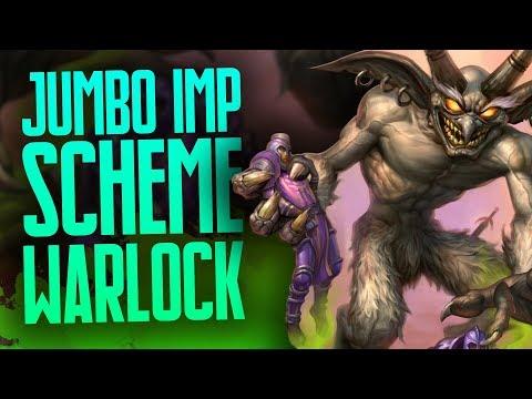 Jumbo Imp Rafaam's Scheme Warlock | Rise of Shadows | Hearthstone