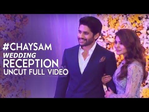 ChaySam Wedding Reception Uncut Full Video   Naga Chaitanya  Samantha Akkineni Wedding Reception