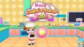 Real Cake Maker 3D - Bake, Design & Decorate – Cake Making | Fun Kids Game | HayDay
