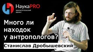 Станислав Дробышевский - Много ли находок у антропологов?