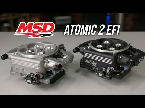 Convert Your Carb to EFI with MSD's New and Improved Atomic 2.0 Fuel Injection