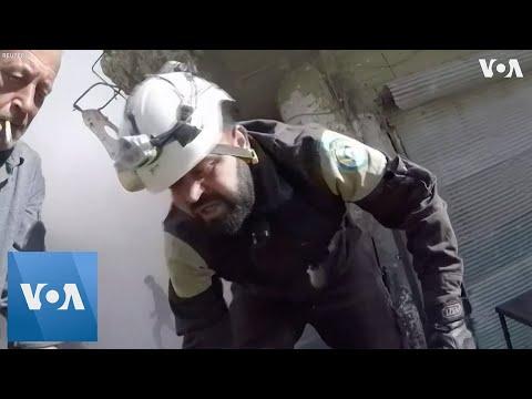 White Helmet Volunteer Wounded in Syrian Air Strike