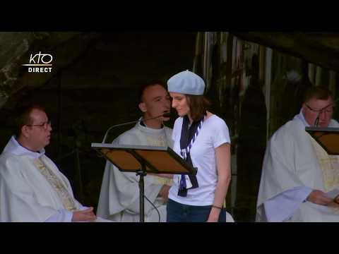 Messe à Lourdes du 19 juin 2020
