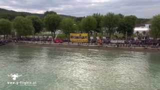 preview picture of video 'Ironman Austria 2013 - Klagenfurt - Kärnten - scenes by g-flights.at'