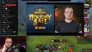 """Asmongold Watches """"Activision's Rising Influence Over Blizzard & A New Low For The WoW Store"""""""