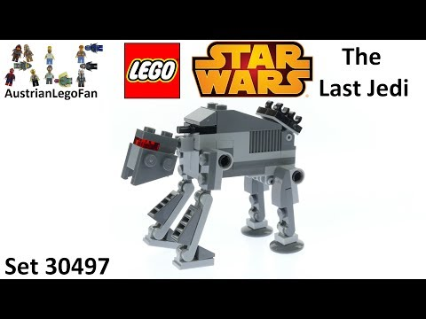 Vidéo LEGO Star Wars 30497 : First Order Heavy Assault Walker (Polybag)