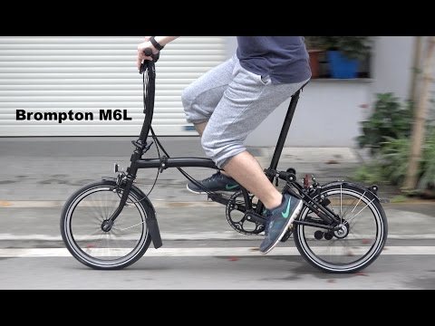 Brompton M6L Black Edition Folding Bike Review
