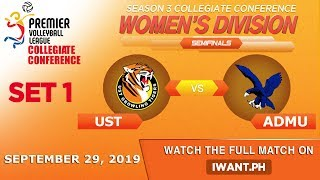 LIVE: SET 1 | UST vs. ADMU | September 29, 2019 | #PVL2019 (Watch the full game on iWant.ph)