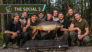 CARP FISHING 🐟 CATCHING HUGE CARP at THE SOCIAL 3 - FULL MOVIE