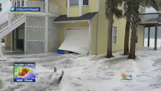 Water Levels Rising As North Carolina Residents Brace For Impact Of Hurricane Florence