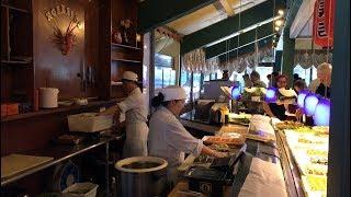 $9.99 ALL YOU CAN EAT BUFFET./ WHAT A BARGAIN?/HOKKAIDO SEAFOOD BUFFET.