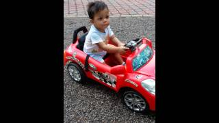 Ayman first ride