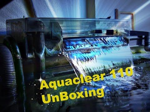 AquaClear 110 Unboxing Review – HOB Aquarium Filter – Fluval Review