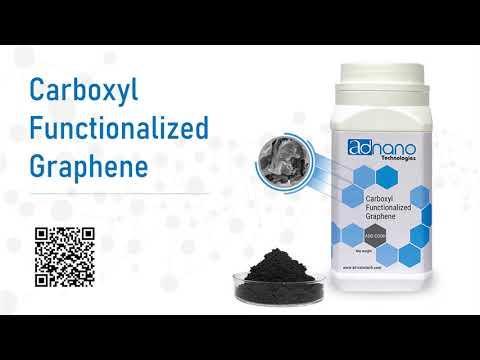 Carboxylic Functionalized Graphene, COOH Graphene, Funcitonalized Graphene- Manufacturer & supplier