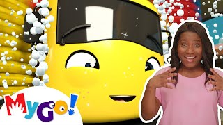Carwash Song | Sign Language For Kids | Baby Songs | Little Baby Bum | ASL