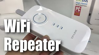 TP-Link AC1750 Wi-Fi Range Extender Repeater (RE450) Setup and Review