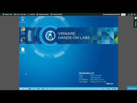 VMware Hands on Lab: Virtualization