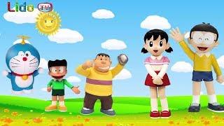 Doraemon Shizuka Nobita Finger Family song Nursery Rhymes for kids | LidoTV