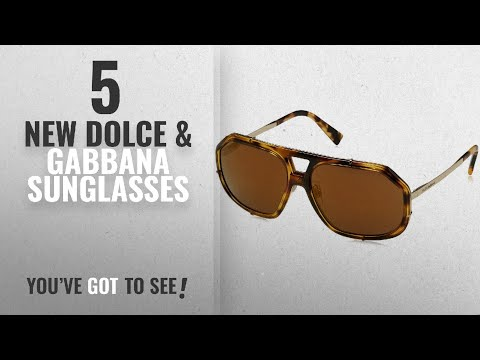 Top 10 Dolce & Gabbana Sunglasses [ Winter 2018 ]: Dolce & Gabbana Men's Metal Man Aviator