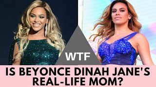 WTF! Is Beyonce Dinah Jane's Real MOM?! | Hollywire
