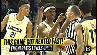 """We About To BUST EM"" This Game Got HEATED From The Start! Emoni Bates LEVELS UP In The Playoffs!!"
