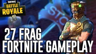 27 Frag Solo Gameplay!   Fortnite Battle Royale Gameplay   Ninja