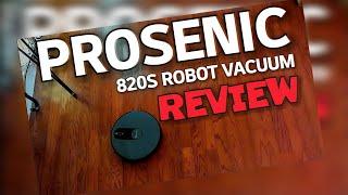 Prosenic 820S Robot Vacuum REVIEW