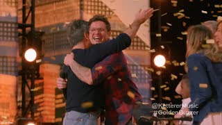Simon Cowell Presses Golden Buzzer For Father Of Six Michael Ketterer