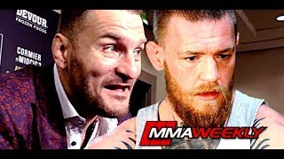 Stipe Miocic Comments on Conor McGregor Bar Fight Over Whiskey