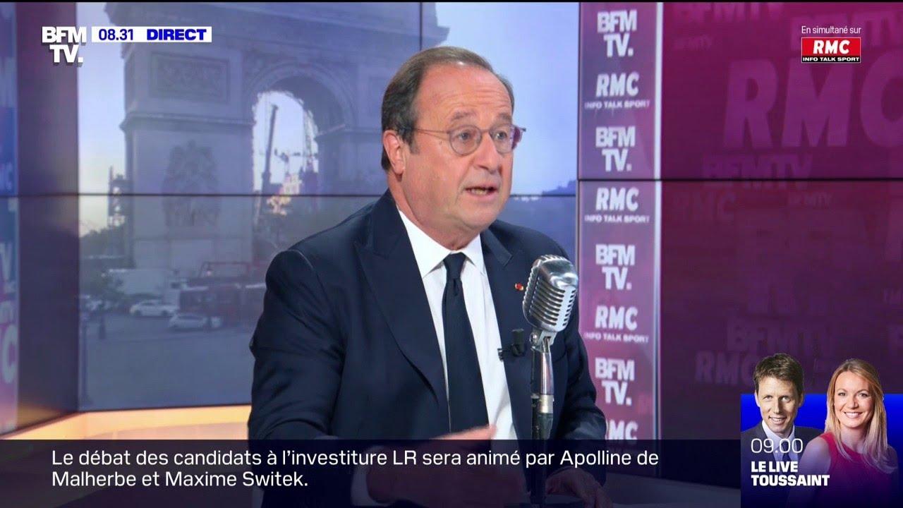 Sur RMC, François Hollande préconise une hausse des salaires pour lutter contre l'inflation