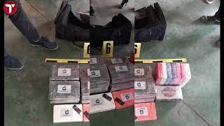 Le film de la  nouvelle découverte de cocaïne au port de Dakar : 120 kgs de coke de + de 9 milliards